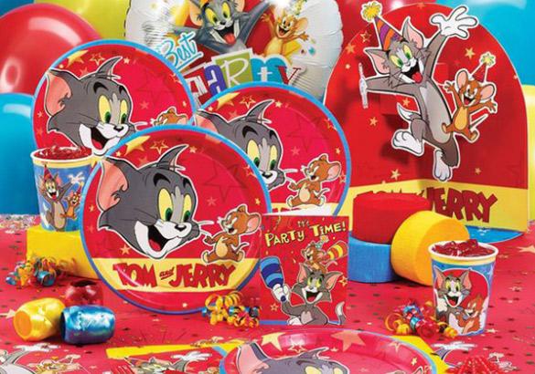 TomJerryBirthdayTheme Little Fun World Childrens Playzone